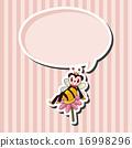 蜜蜂 向量圖 向量 16998296