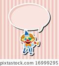 向量 向量圖 小丑 16999295