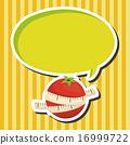 矢量 健康 番茄 16999722