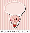 樂隊 豬 向量 17000182