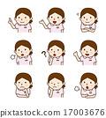 nurse, variation, caregiver 17003676