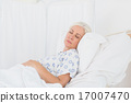 a patient waiting for a doctor 17007470