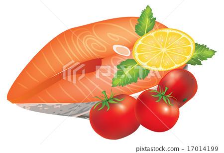 Salmon Steak 17014199