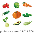 Set of  vegetables 17014224