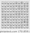 doodle pet icons 17018561