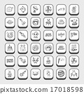 doodle space icons 17018598