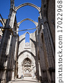 Igreja do Carmo Church Ruins in Lisbon 17022968