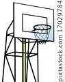 運動 籃筐 籃子 17029784