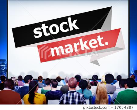 Stock Market Economic Finance Exchange Concept 17034887