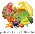 turkey, thanksgiving, basket 17042064
