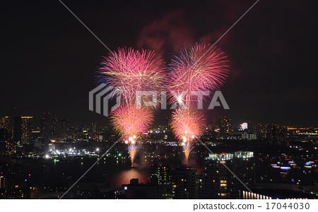 도쿄 만 불꽃 놀이 2 17044030