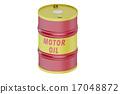 motor, oil, barrel 17048872