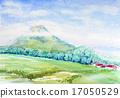 요 테이 산 니세코 필기 스케치 17050529