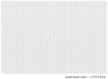 砖和木板路,池畔块模式 17055604