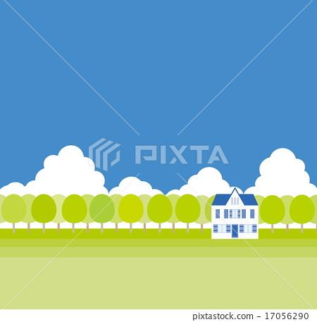 Spring landscape 17056290