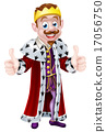 vector drawing king 17056750