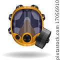 gas mask vector illustration 17056910