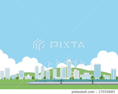 城市風光 城市景觀 市容 17059885