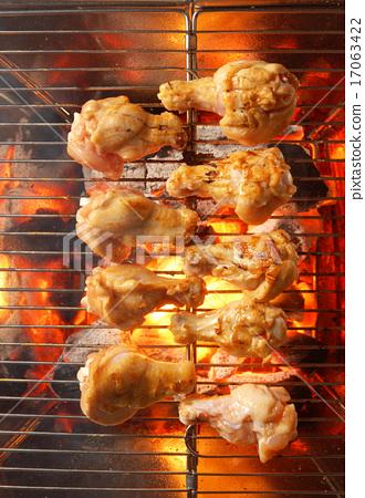 烤小雞腿 17063422