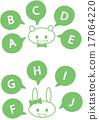 bunny, rabbit, talk 17064220