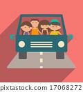 travel, icon, shadow 17068272