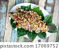 Fried fish with herbs 17069752