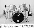 Guitar and drum kit 17076389