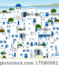 Traditional greek houses 17080062