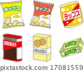 vector, vectors, potato chips 17081559