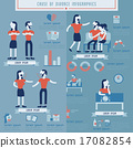 infographic chart couple 17082854