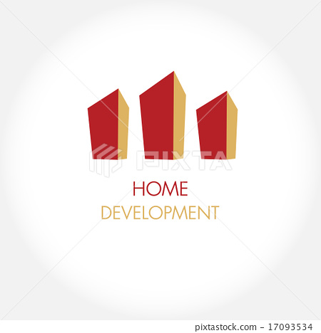 Abstract construction or real estate company .  17093534