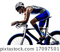 triathlon iron man athlete cyclist bicycling 17097501