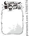 兒童萬聖節框架單色 17099774
