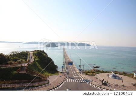 Kakushima Ohashi and the sea 17100415