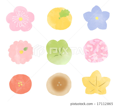 和果子 日本糖果 日式甜点 17112865