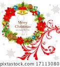圣诞红 一品红 框架 17113080