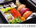 bento box with sushi 17118966