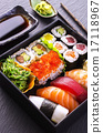 sushi and rolls 17118967