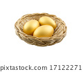 Eggs Isolated on White Background 17122271