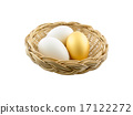 Eggs Isolated on White Background 17122272