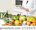 檢查 營養師 蔬菜 17125373