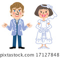 international marriage, bride, wedding 17127848