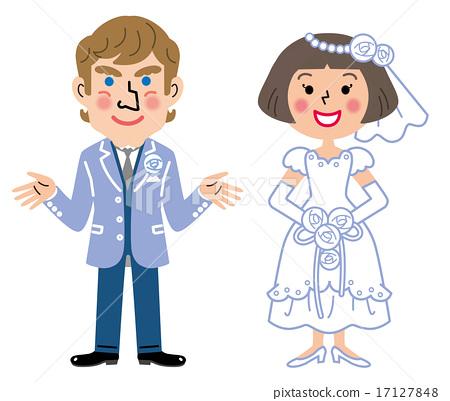 international marriage, illustration, groom 17127848