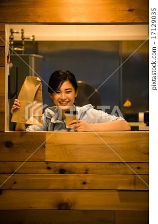Cafe clerk 17129035