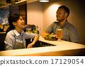 카페 점원과 손님 17129054