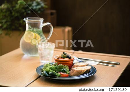 午餐 午饭 有机 17129180