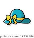 sun-hat color doodle 17132504