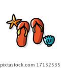 flip flop color doodle 17132535