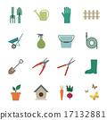 garden tools icon 17132881