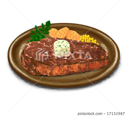 Real steak 17132987